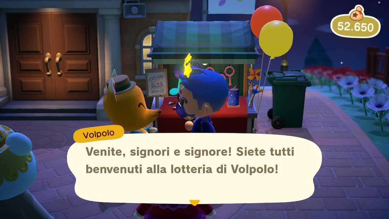 Animal Crossing: New Horizons, Volpal Lottery Handbook