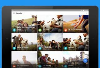 aplicación para historias de fotos y presentación de diapositivas de video