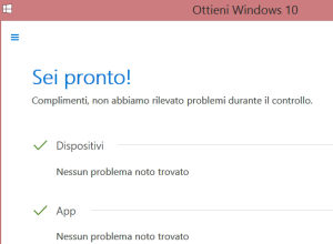 compruebe si su PC está preparada para Windows 10