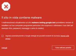 navegación segura Chrome