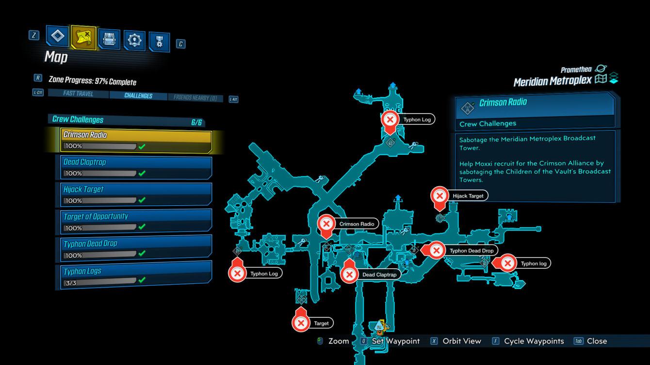 Borderlands 3: Una guía para los problemas del Meridian Metroplex