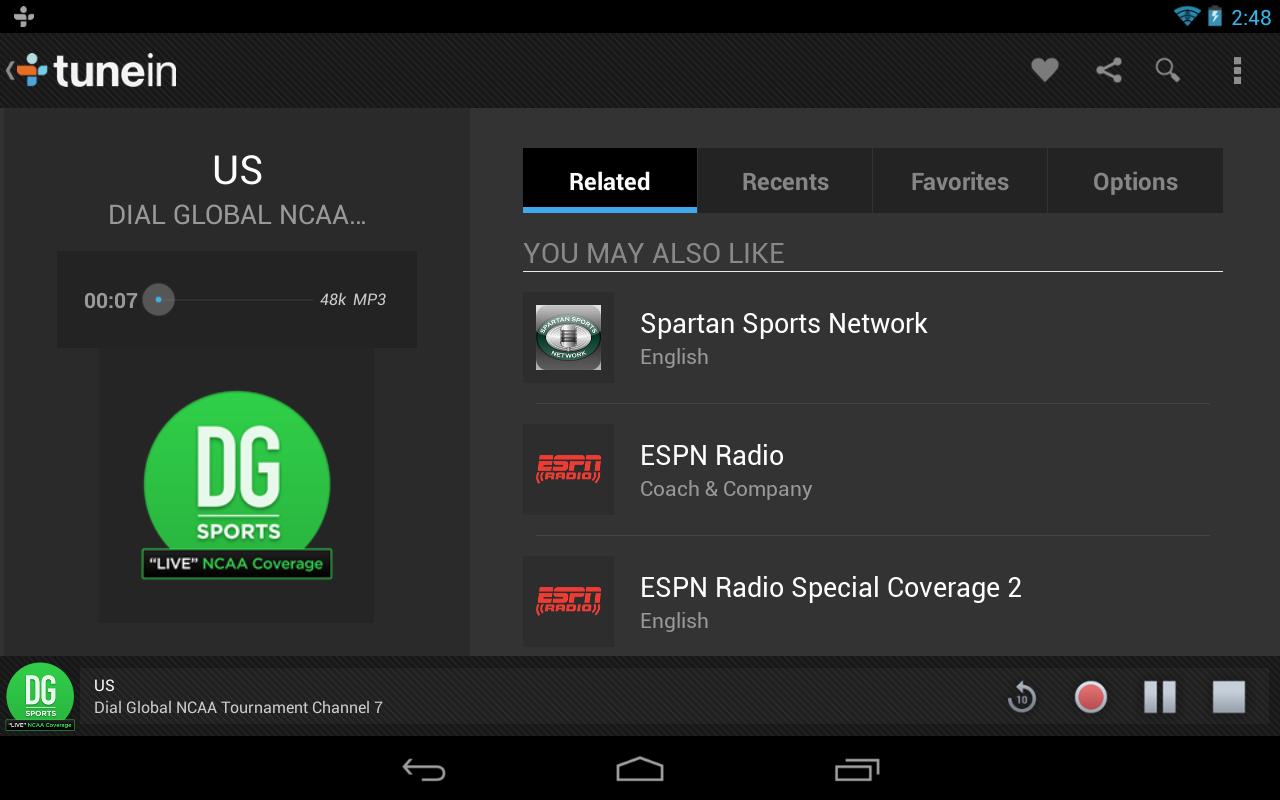 Cómo instalar y escuchar la radio en Samsung Galaxy S6, S7, S8, S9 y S10 3