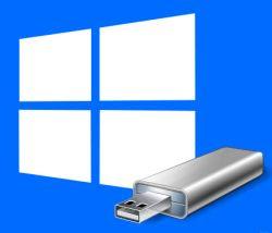 Windows para ir a la memoria USB