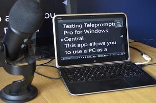 Crear teleprompters