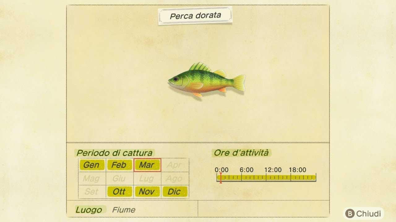 Cruce de animales: New Horizon, peces e insectos de octubre