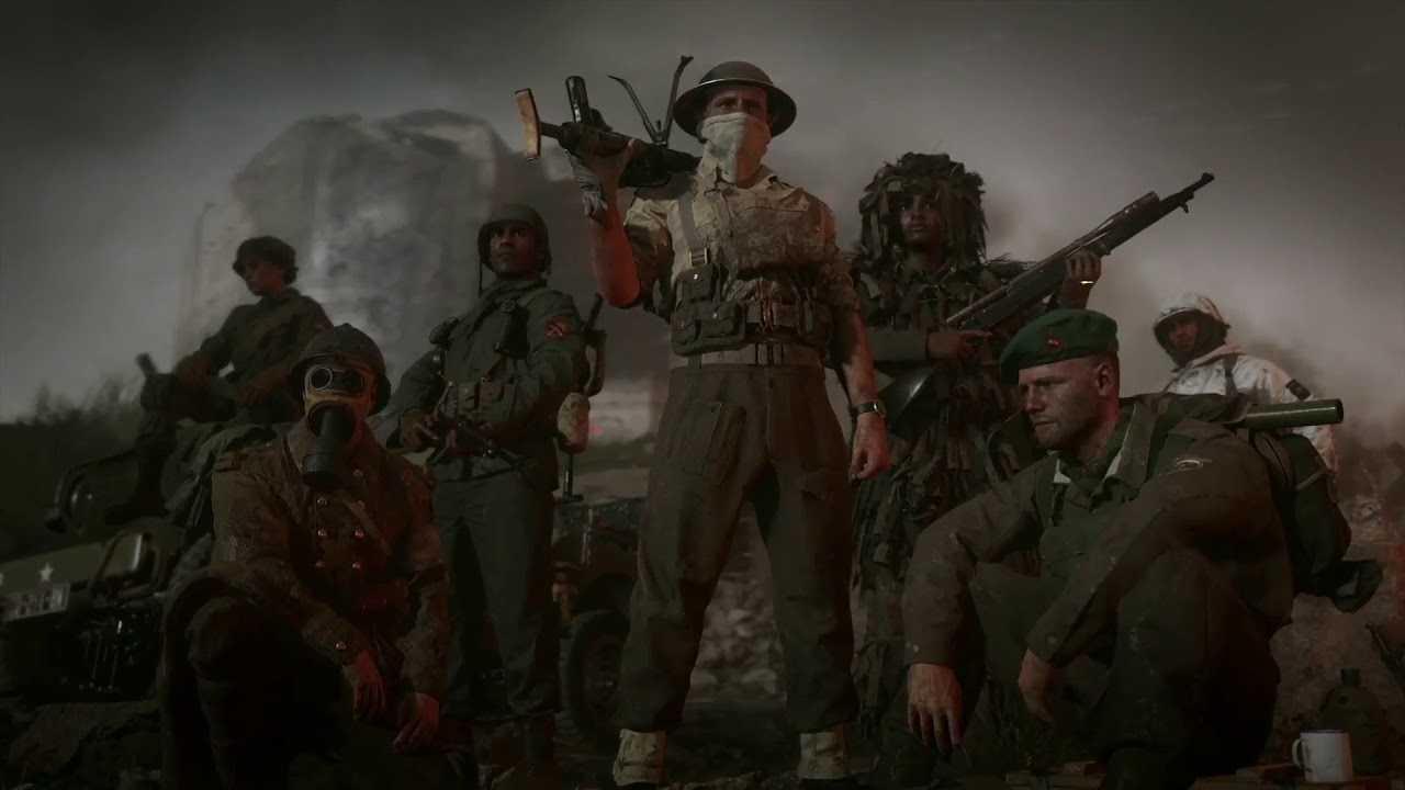Deber de la Segunda Guerra Mundial: Mejor División  Guía multijugador
