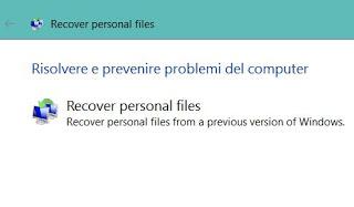 los archivos se han ido Windows 10