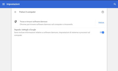 anti-malware de Chrome