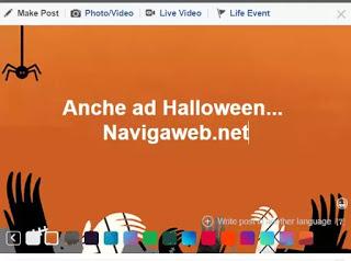 efectos facebook halloween