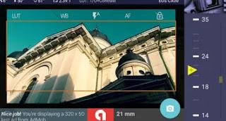 Aplicación de edición de fotos para Android