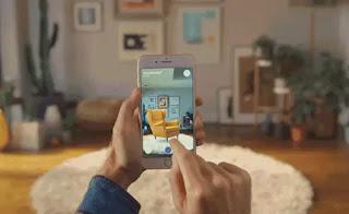 aplicación de realidad aumentada para iphone