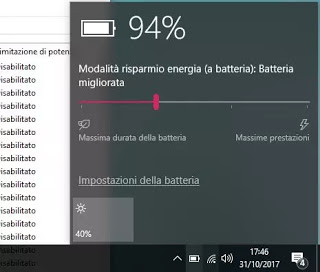 batería de windows 10