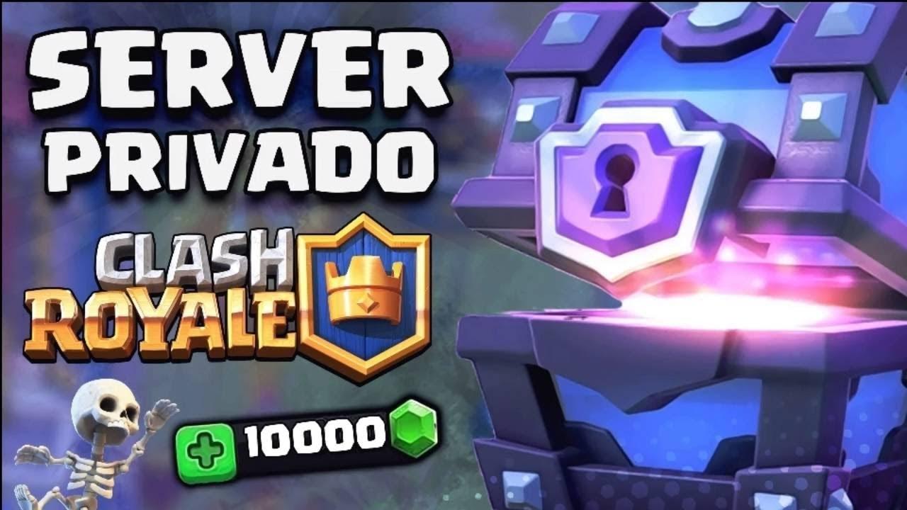Los mejores servidores privados para Clash Royale 1 APK
