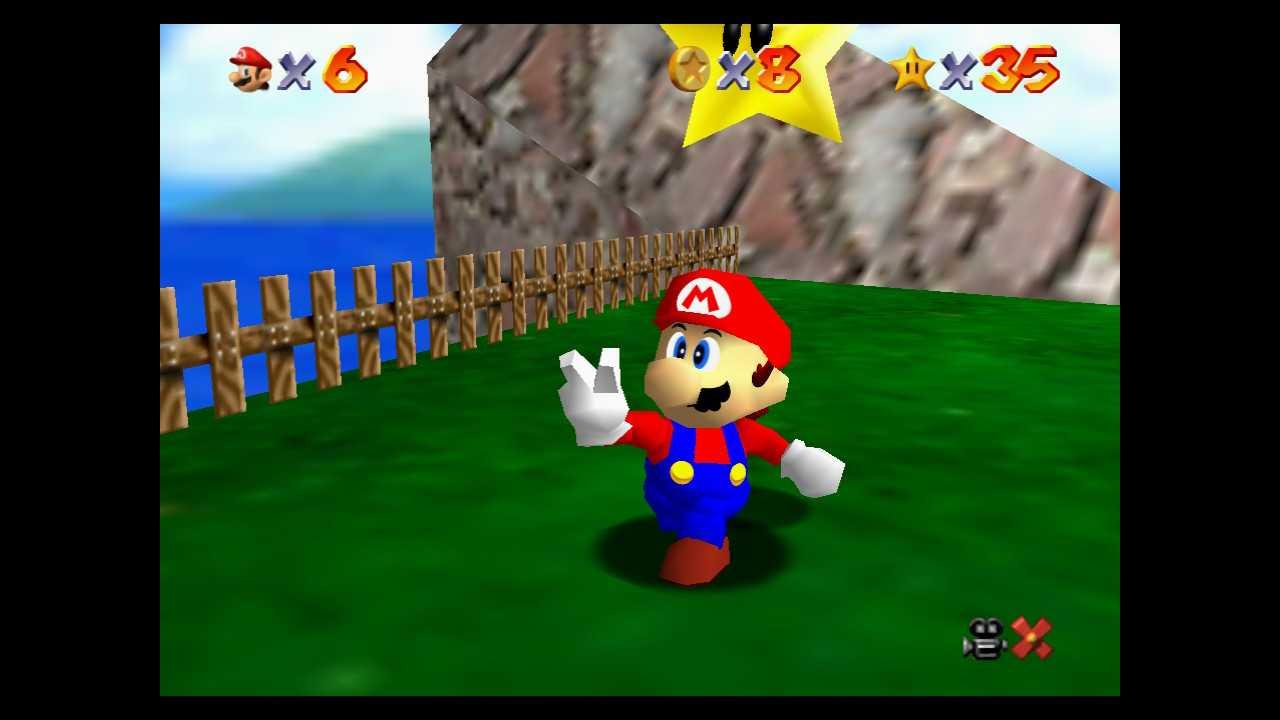 Super Mario 64: dónde encontrar todas las estrellas de Isola Granpiccola