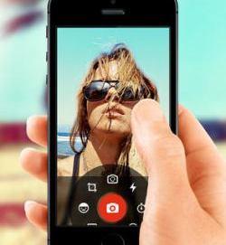 aplicación selfie