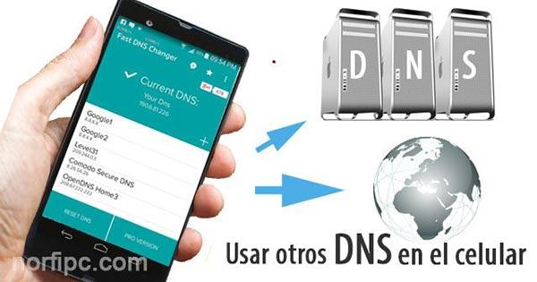 android acelere la navegacion web y play store cambiando su dns 1
