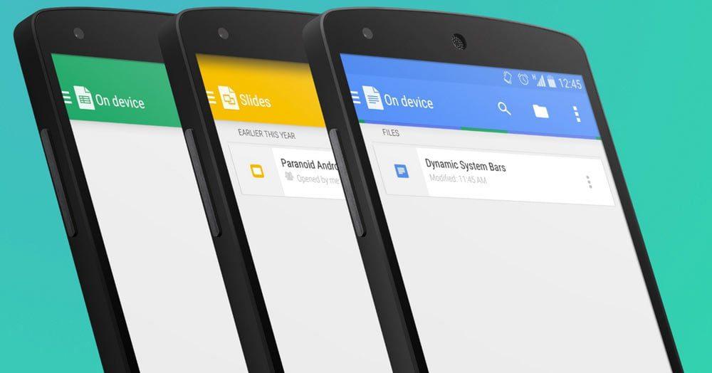android paranoico para dispositivos que no son nexus descarga e informacion