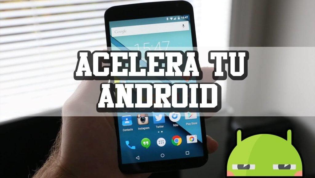 aumente el rendimiento de android con root booster