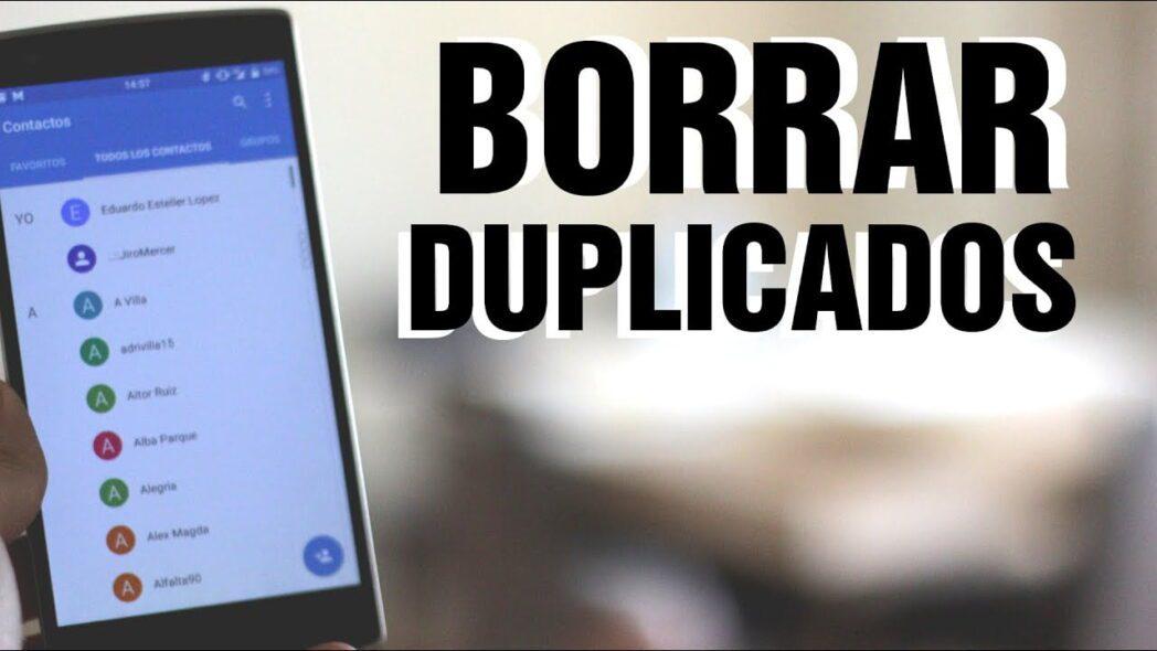 combinar contactos en la libreta de direcciones y eliminar duplicados en android