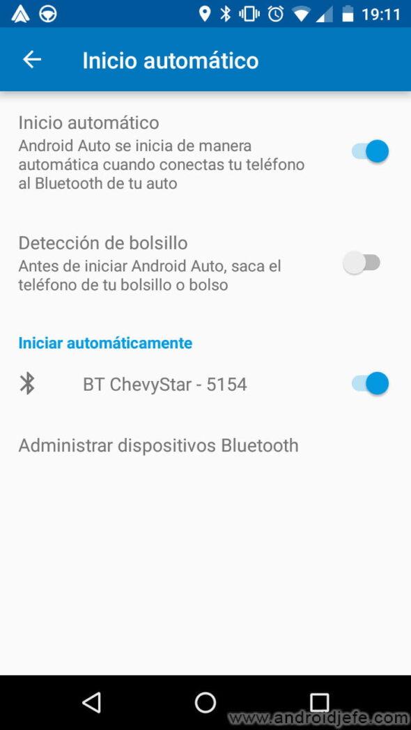 como activar bluetooth automaticamente al recibir o iniciar una llamada en android