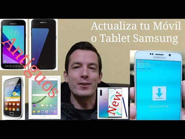 como actualizar un antiguo telefono inteligente o tableta android
