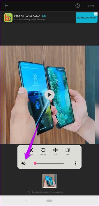 como agregar rapida y facilmente marcas de agua a videos de android