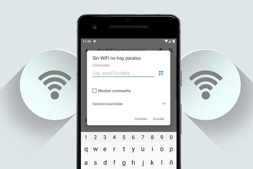 como averiguar la contrasena de wi fi a la que esta conectado desde un dispositivo android