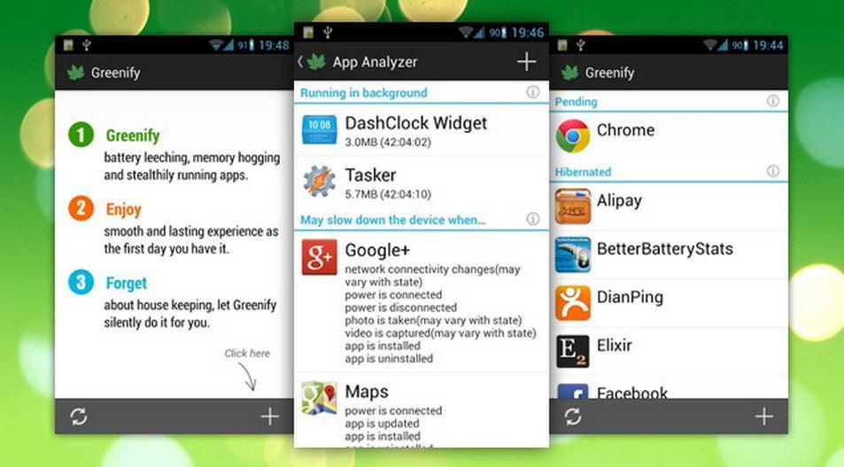 como bloquear aplicaciones de inicio automatico en android con greenify