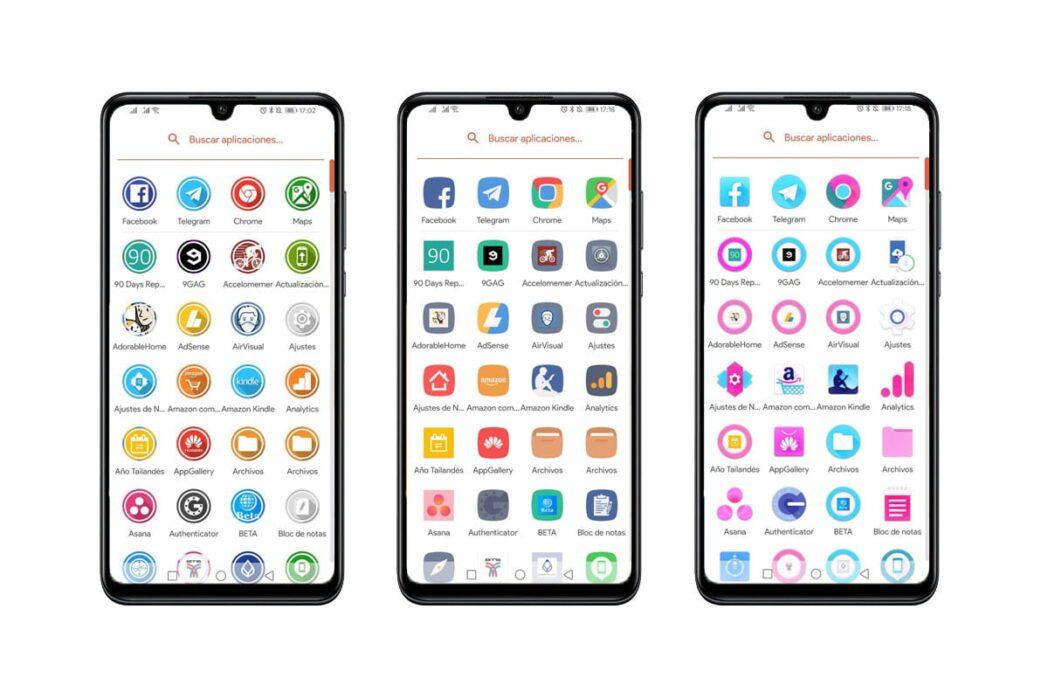 como cambiar iconos en android con un nuevo lanzador o stock