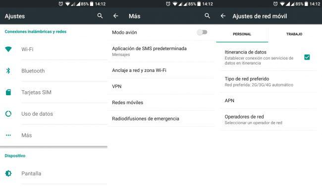 como cambiar la red de 2g a 3g usando el widget de android con y sin root