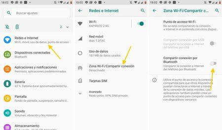 como compartir una conexion vpn en android a traves de un punto de acceso wi fi