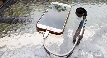 como conectar una unidad flash usb a un telefono inteligente android