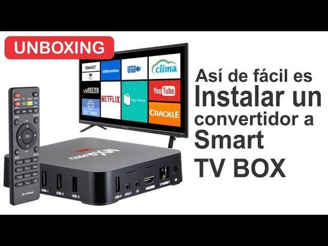 como convertir tv en android smart tv a traves de tv
