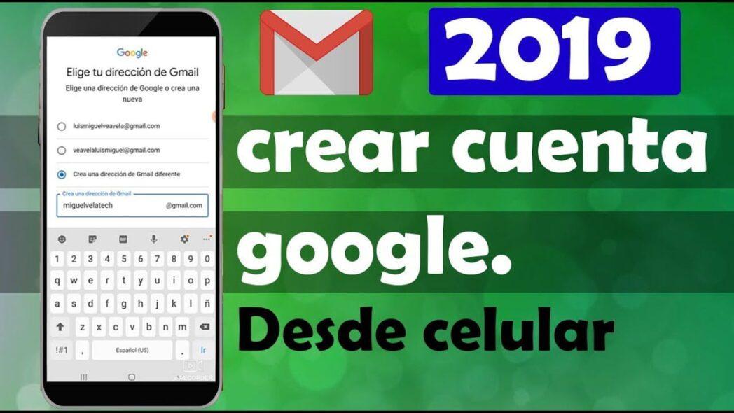 como crear una cuenta de google gmail para android