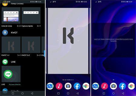 como crear widgets personalizados en android con kwgt kustom widget maker