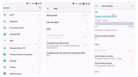 como desactivar el roaming de datos en android