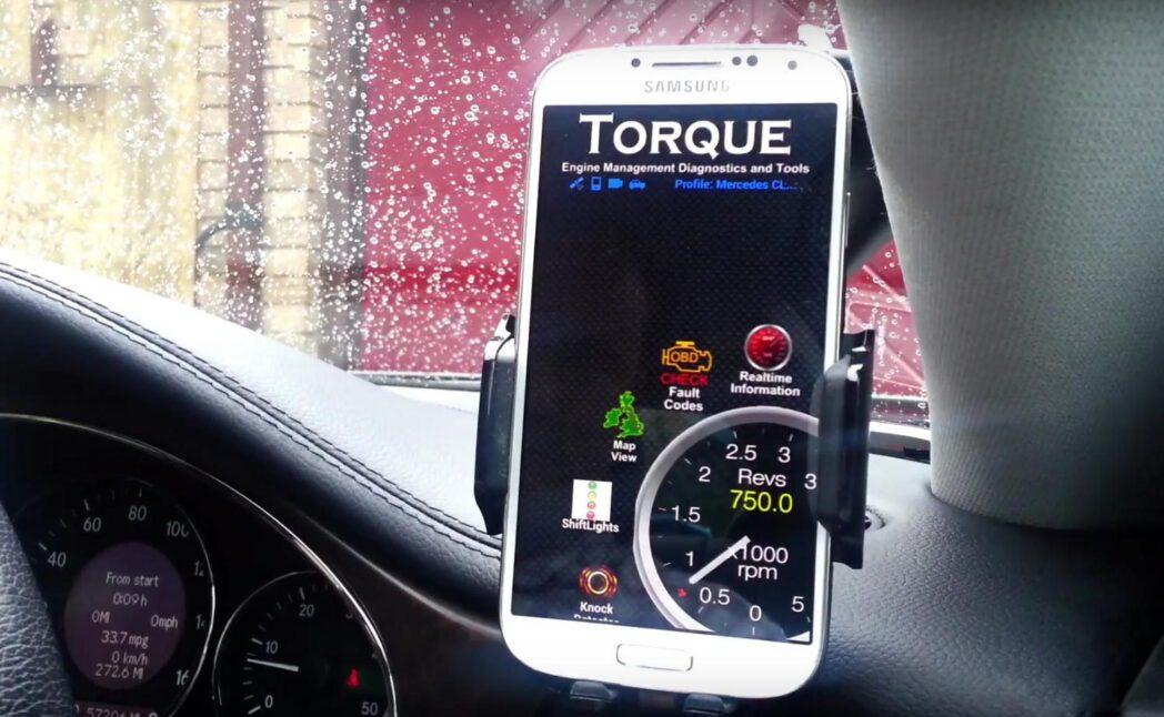 como encontrar el conector de diagnostico obd2 de un automovil con la aplicacion de android