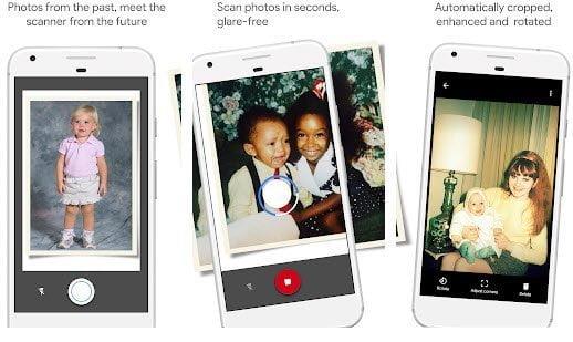 como escanear y digitalizar fotos antiguas en papel impreso usando android