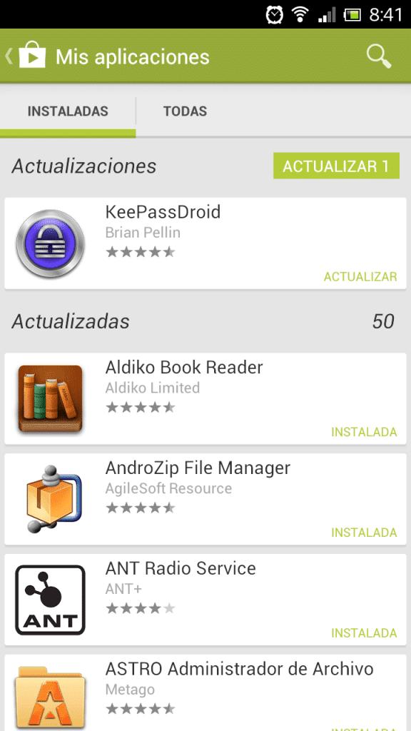 como hacer actualizaciones automaticas y manuales de android