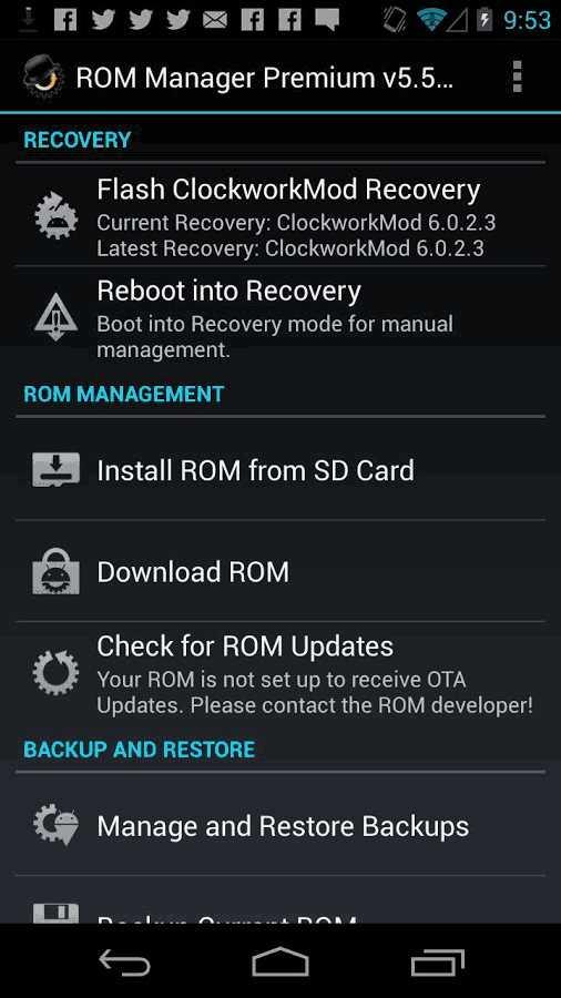 como hacer una copia de seguridad completa de android con clockworkmod recovery