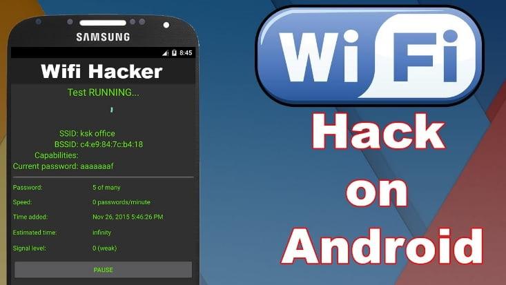 como hackear la contrasena predeterminada de wi fi en android