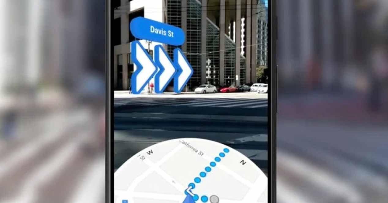 como obtener live view en google maps para android
