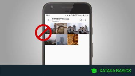 como ocultar fotos y videos de whatsapp en la galeria de android