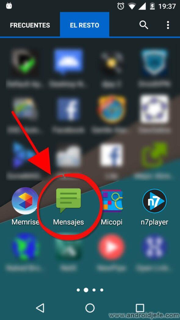 como ocultar sms en android a