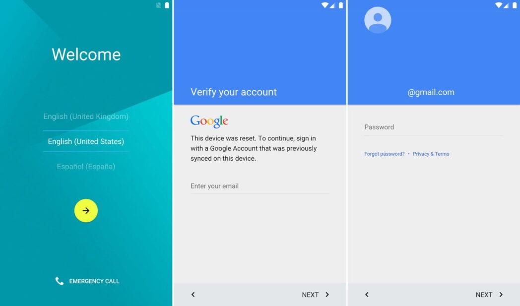 como omitir la proteccion de restablecimiento de fabrica y la verificacion de la cuenta de google en android