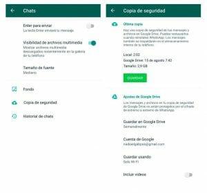 como recuperar conversaciones eliminadas de whatsapp en android