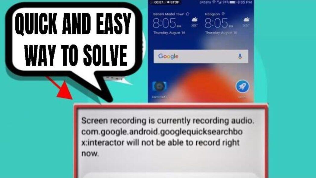 como reparar com google android googlequicksearchbox interactor