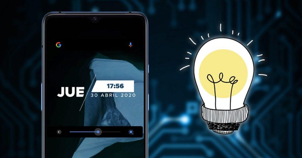 como solucionar problemas de brillo de la pantalla en android