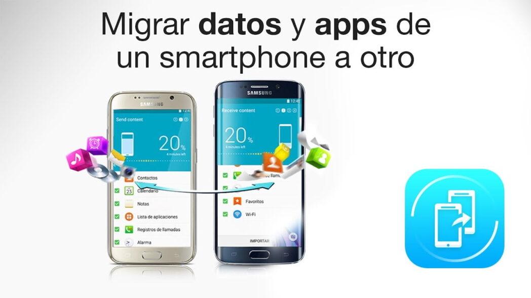 como transferir aplicaciones de samsung a samsung u otros dispositivos android