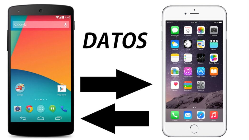 como transferir fotos y videos de iphone a android